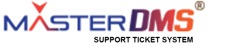 Support Ticket System master DMS